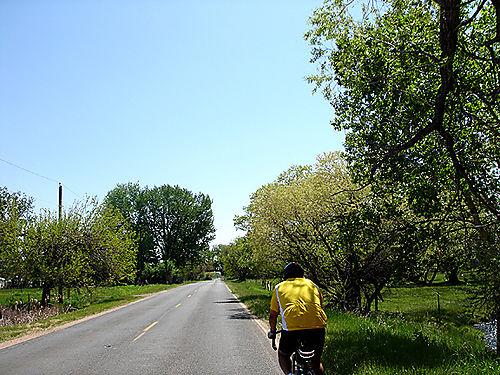 Greg riding