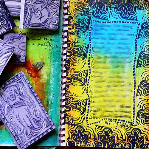 Journal stamp