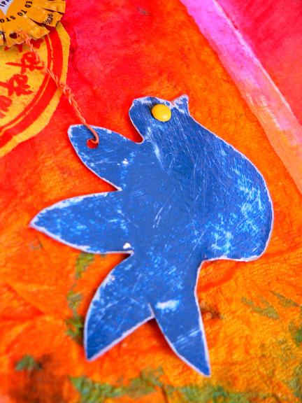 Blue-bird-detail