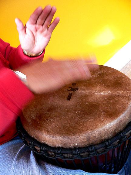 Drum-hands