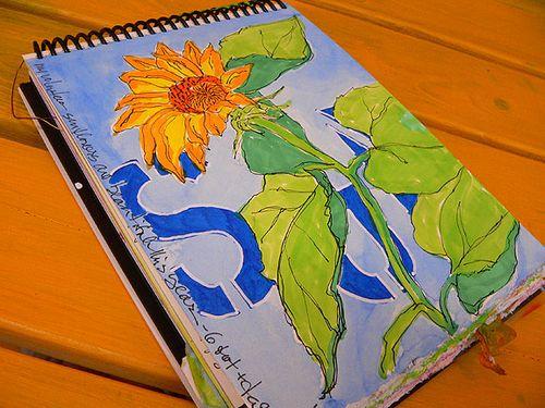 SunflowerJournalPage