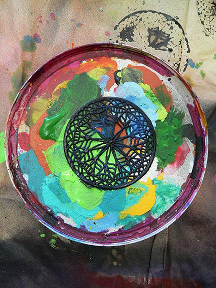 Paint-circle