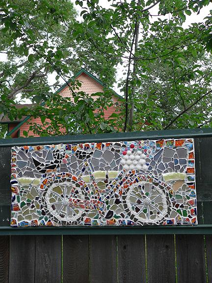 Bike-mosaic