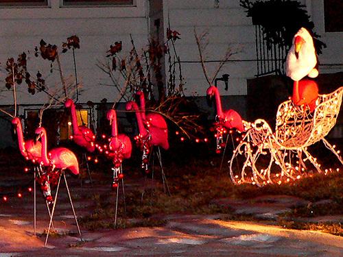 Santa_and_the_flamingos