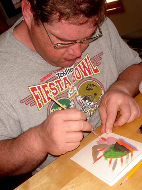 Mike_painting